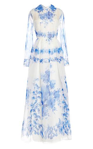 Medium valentino print floral print silk gown