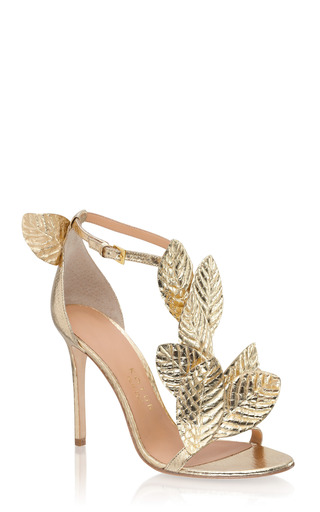 Kotur Gilda Snakeskin Sandal by KOTUR for Preorder on Moda Operandi