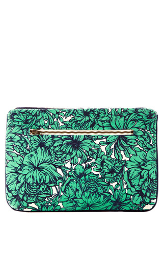 Megan Park Billie Canvas Clutch by MEGAN PARK for Preorder on Moda Operandi