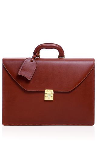 Medium mark cross brown mark cross briefcase in brown