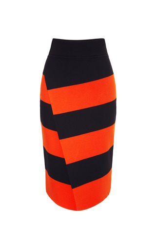 Medium a l c orange alc campbell skirt