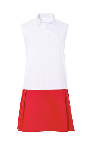 Medium marianna cimini red marianna cimini dolly shirt dress