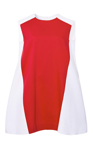 Medium marianna cimini white marianna cimini bicolor ballerina dress
