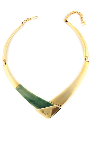 Medium house of lavande green house of lavande pierre cardin signed collar necklace