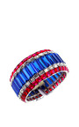 House Of Lavande 1950's Unsigned Metal Cuff by HOUSE OF LAVANDE for Preorder on Moda Operandi