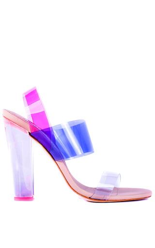 Medium charkviani pink charkviani sara heel in pink clear