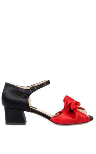 Medium andrea incontri black andrea incontri black and red satin bow sandals