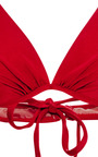 M'o Exclusive: Halter Neck Underwire Bikini by ADRIANA DEGREAS Now Available on Moda Operandi