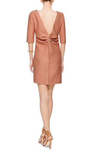 Allyson Floral Cutout V Back Dress by NO. 21 Now Available on Moda Operandi