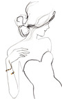 Joos Mix Bracelet by PAULA MENDOZA for Preorder on Moda Operandi