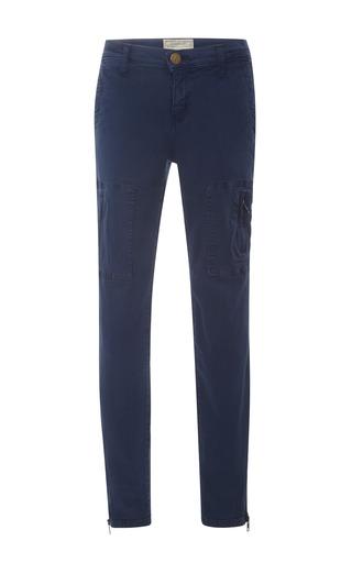 Medium current elliott blue cargo pocket twill pants
