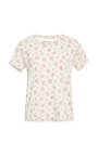 The Sophomore Floral Print Top by CURRENT/ELLIOTT Now Available on Moda Operandi