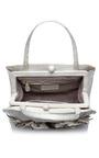 White Bougainvillea Handbag by NANCY GONZALEZ for Preorder on Moda Operandi