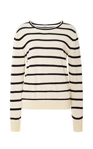 Medium kule stripe fraser crewneck stripe sweater