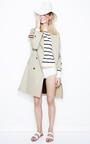 Roxbury Trench Coat by KULE for Preorder on Moda Operandi