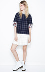 Evie Front Pleat Skirt by KULE for Preorder on Moda Operandi