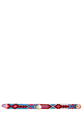 Medium dezso by sara beltran multi one of a kind beaded bracelet with seashell detail 15