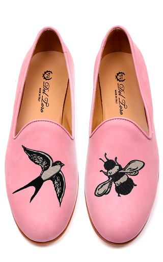 Medium del toro pink the birds and the bees loafer