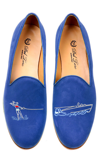 Medium del toro blue water skiing loafer