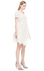 Ivory Lace And Silk Top by RUBAN Now Available on Moda Operandi