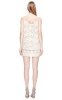 Ivory Silk And Lace Top by RUBAN for Preorder on Moda Operandi