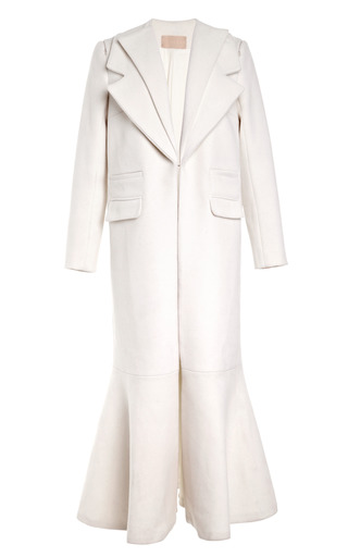 Medium ruban white white long coat