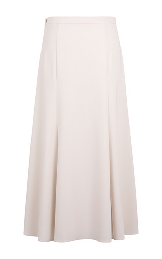 Box Pleat Trumpet Skirt by A LA RUSSE for Preorder on Moda Operandi