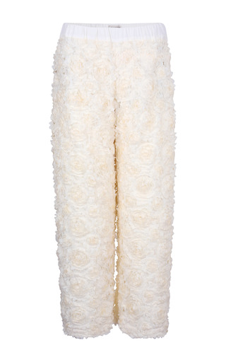 Applique Pant by A LA RUSSE for Preorder on Moda Operandi