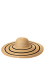 Straw Floppy Brim Hat by A LA RUSSE for Preorder on Moda Operandi