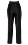 Black Trouser With White Vertical Side Seam by KALMANOVICH for Preorder on Moda Operandi