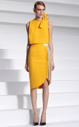 Bow Top by ALEXANDR KONDAKOV for Preorder on Moda Operandi