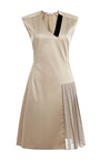 Beige Evgeniya Dress by ALEXANDR KONDAKOV for Preorder on Moda Operandi