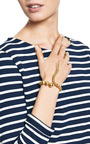 Joos Gold Plated Coil Bracelet by PAULA MENDOZA Now Available on Moda Operandi