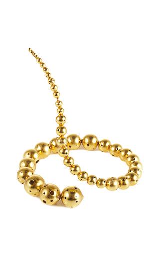 Joos Gold Plated Coil Bracelet by PAULA MENDOZA Now Available on Moda Operandi