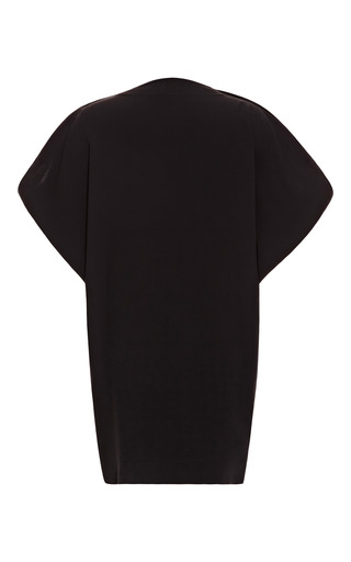 Short Black Safari Caftan by ALEXANDER TEREKHOV for Preorder on Moda Operandi