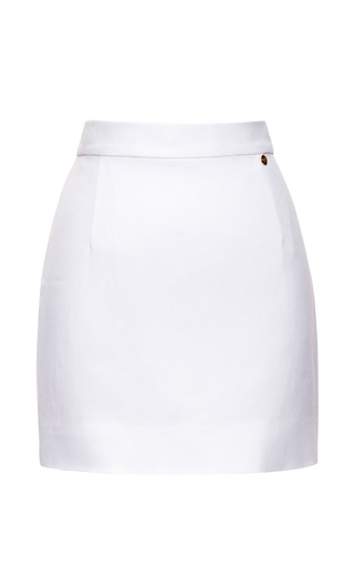 Medium alexander terekhov white white mini skirt