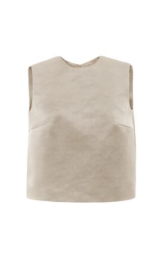 Medium esme vie dark grey chateau grey sleeveless blouse
