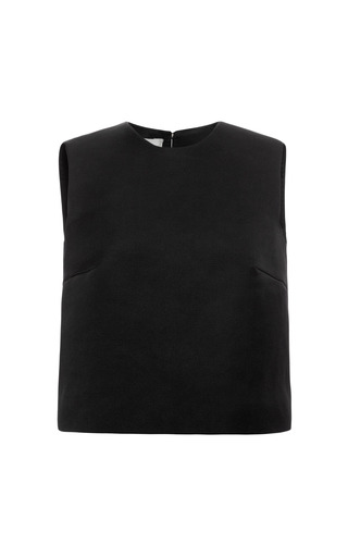 Medium esme vie black beluga black sleeveless blouse
