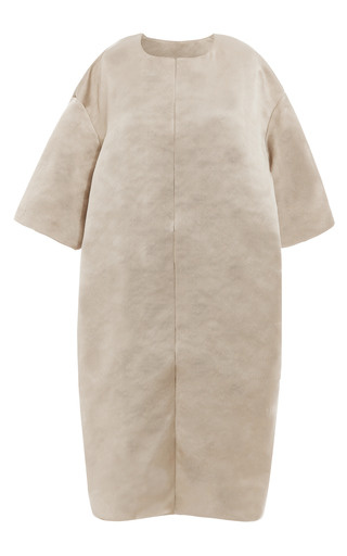 Chateau Grey Wrap Coat by ESME VIE for Preorder on Moda Operandi