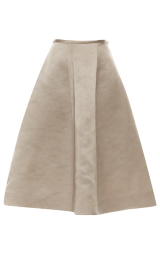 Medium esme vie dark grey chateau grey panel gore midi skirt