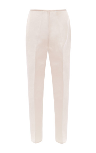 Medium esme vie white gardenia white cigarette trousers