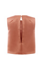 Withered Rose Sleeveless Blouse by ESME VIE for Preorder on Moda Operandi