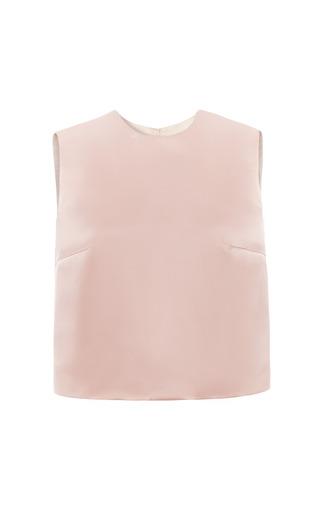 Medium esme vie pink peony sleeveless blouse