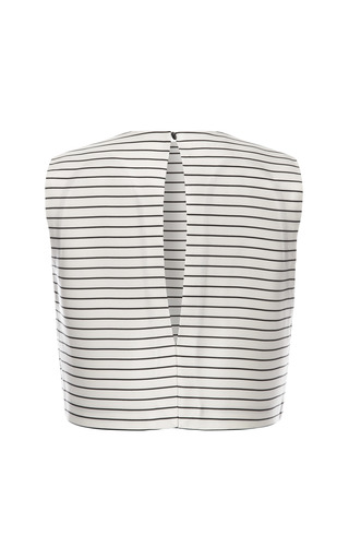 Seaside Stripe Sleeveless Blouse by ESME VIE for Preorder on Moda Operandi