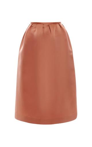 Medium esme vie pink withered rose column midi skirt