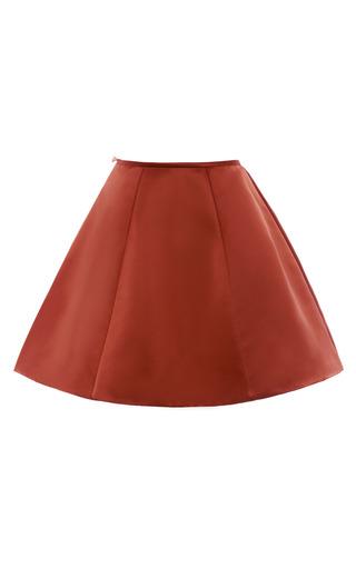 Arabian Spice Panel Gore Mini Skirt by ESME VIE for Preorder on Moda Operandi