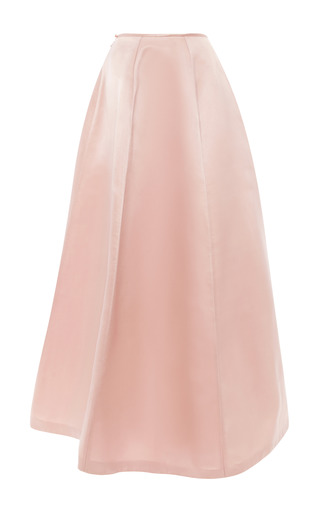 Medium esme vie pink peony panel gore maxi skirt