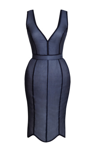 Dark Tulip Dress by NATASHA ZINKO for Preorder on Moda Operandi