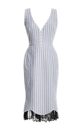 Medium natasha zinko stripe striped tulip dress