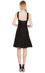 Chanel Black Dress With Pearl Trim From What Goes Around Comes Around by COLLECTIBLE JACKETS for Preorder on Moda Operandi